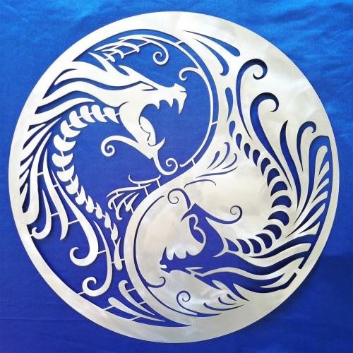 Yin Yang con Dragoni