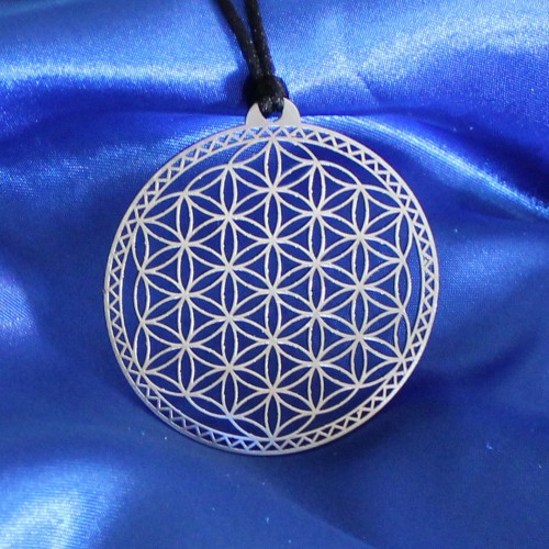 Flower of Life Pendant with...