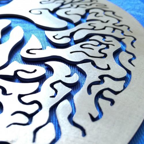 Yin Yang con Alberi della Vita