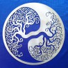 Yin Yang with Tree of Life