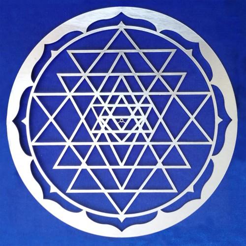 Sri Yantra Round Frame