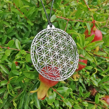 Flower of Life of Abydos Pendant