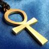 Ankh Key Pendant - BRASS