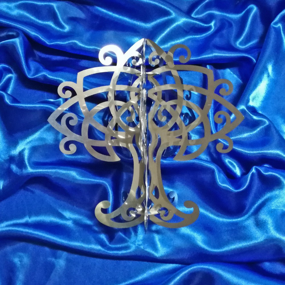 Three-dimensional Celtic Tree