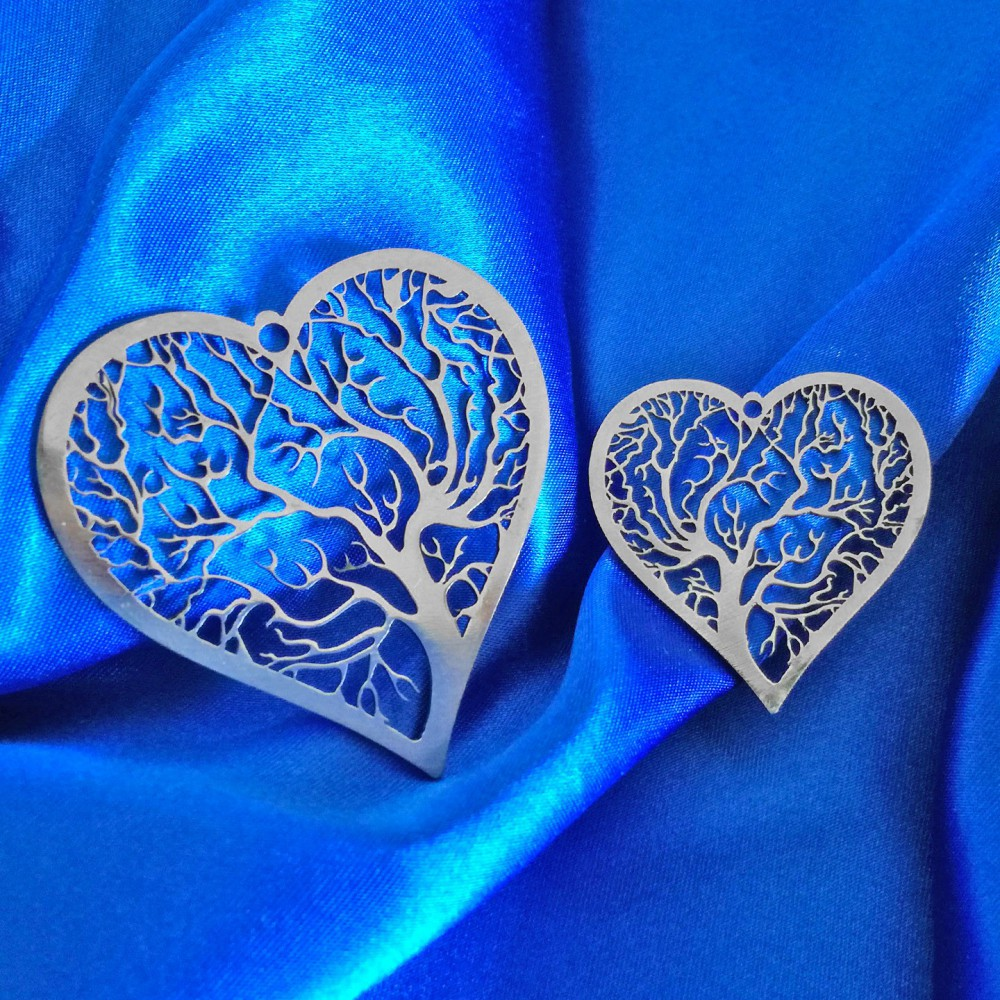 Heart with Tree of Life Pendant