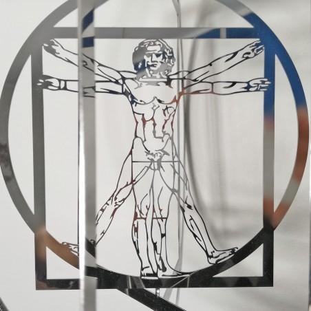 Three-dimensional Vitruvian Man