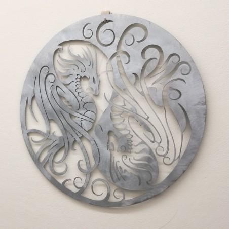 Yin Yang, Dragons and Wings