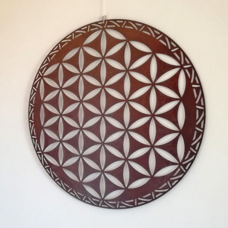 Flower of Life of Abydos, Positive Version  - CORTEN