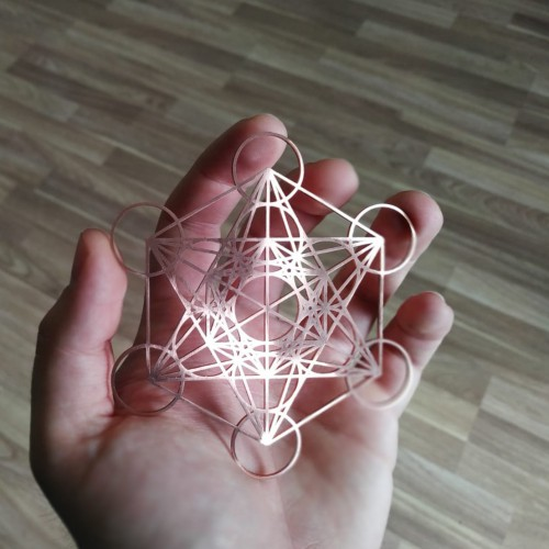 Metatron's Cube - COPPER
