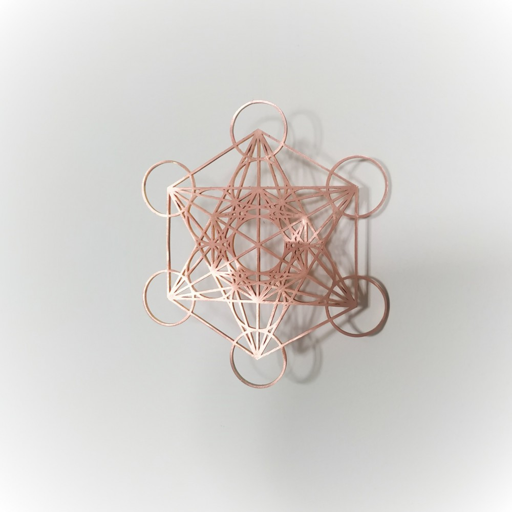 Metatron's Cube - COPPER