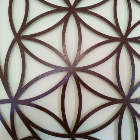 Fleur de Vie de Abydos - CORTEN