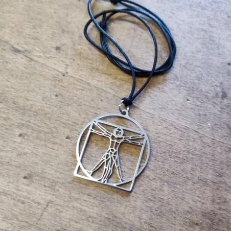 Vitruvian Man Pendant