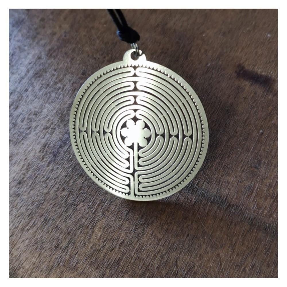 Chartres Labyrinth Pendant