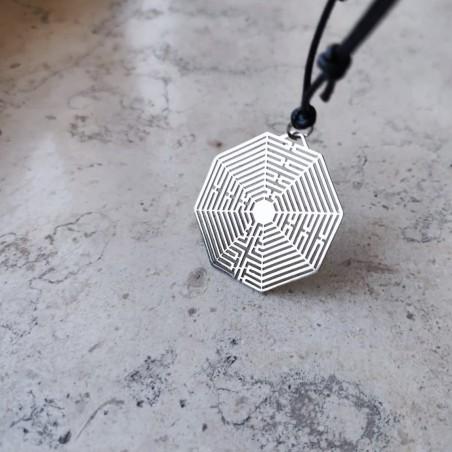 Amiens Labyrinth Pendant